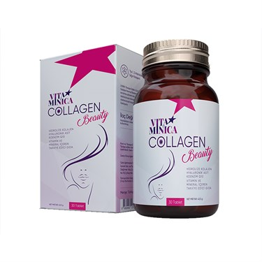 Vitaminica Collagen Beauty 30 Tablet Cam Şişe